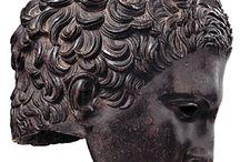 ancient sculpture portrait