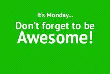 Weekday Inspiration / Get INSPIRED this week!
