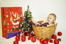 Mienke's 1st Christmas / Baby Girl Christmas Photoshoot