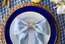 *table napkins*
