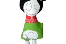 Dolls - Softies - puppets