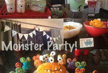 Party party party!! / Inspirasjon og idea til bursdagsfeiring