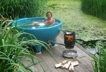 Outdoor bath ideas