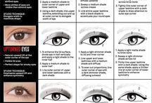 kształty oczu