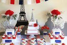 France themed party