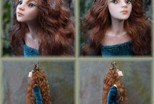 Куклы из полимерной глины фэнтези
