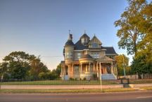 Helena-West Helena / Here are images of Helena-West Helena, AR -- home of the Delta Cultural Center, the Pillow-Thompson House, the starting point of Crowley's Ridge Parkway and the home of the King Biscuit Blues Festival!