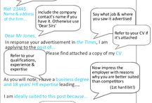 Cover letter writing / Cover letter writing tips