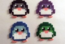 Mini perler bead patterns/patronen voor (mini) beads. / Mini perler beads strijkkralen patronen patterns diy hama