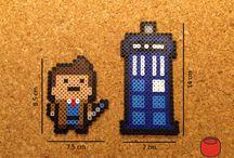 z - pixel art - Dr Who