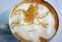 """Arte em Café - Art Coffee  / Visit my site """"The Ribeira Valley"""" http://www.ovaledoribeira.com.br/ / by Camilo Aparecido"""