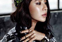 Song Ji Hyo / One of the best female actress I saw, she is cute and bad when she need, Monk ji hyo, Blank ji Hyo, evil ji hyo, Ace ji hyo this is all ji hyos names haha she is so Cool :)