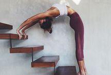 Inspirational yoga poses