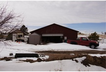 ARABIAN Trl Elizabeth, CO 80107 / 5 Acre Horse Property! Home features new carpet & paint. Double pane windows. 5 Stall Barn. Over 200 trees on the property!