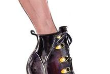 ilustracao de sapato