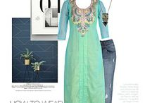 Kurta with Jeans - The Fashion Sutra