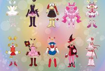 Reference: MAGICAL GIRLS