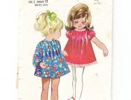 Vintage baby boutique / A  selection of vintage patterns to make items for baby showers, gifts, heirlooms, - booties, hats, shawls, christening gowns, lovely to make and many instantly downloadable