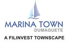 Marina Town / Experience the all-new Dumaguete City lifestyle at Marina Town, a dynamic Filinvest townscape. With well-appointed residences, a modern shopping hub and hotel, this master-planned community reshapes the landscape of this vibrant city – all with a view of Dumaguete's majestic bay.