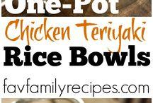 Easy One Pot Recipes