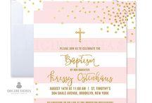 Christening/Birthday Invitations