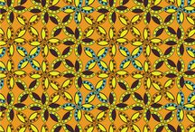 African textile designs / Having lived in an African country for almost all my life. I am inspired by everything around me, from the artificial things, ancient traditional folk tales, ancient symbols and nature. Have this love for vibrant and brilliant colors. I believe that art is every where and in everything, and from the way a spoon is placed in a tea cup, a story can be told through the creation of patterns.
