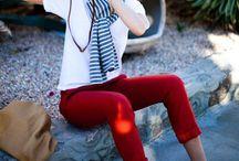 Colour pants