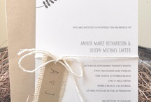 Correspondence & Paper / by Navy & Lavender Weddings