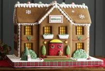 Ginger Bread Houses! ♥ / Gingerbread Houses Christmas time / by Always Crafting