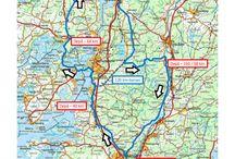 Kartor för Västkusten Runt