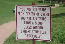 Funny Golf / by GolfGarb www.golfgarb.co.uk