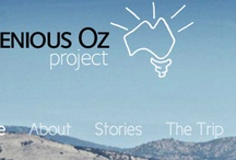 Ingenious Oz Project / Australia is a clever Nation. Far cleverer than we give ourselves credit for.   So I want to celebrate how creative & ingenious we are, by visiting & learning about communities, individuals, & businesses who have done amazing things  I believe if we can inspire the creativity of others, encourage great ideas, then we can nurture &improve the creative well being of this country & make an immense difference to all Australians.  Hope you join me.  http://www.facebook.com/IngeniousOzProject