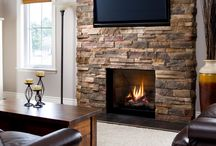 Valor Fireplaces - Ventana Series / The perfect blend of radiant and convective heat provides efficient, steady warmth for the largest of spaces. Spectacular flames accompany clean, simple design elements that await your interior design inspirations. / by Valor Fireplaces