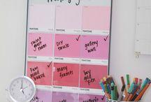 Organization / Keep it in order!