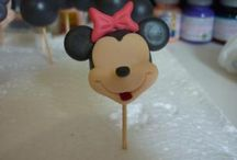Minnie - Mickey cookies, cake pops, cupcakes