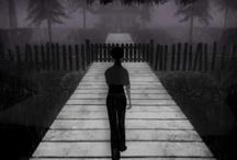 the path game (about red riding hood)