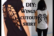 Diy t-shirts / Dig T-shirts