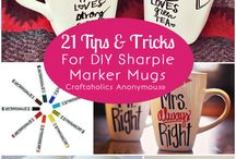 mugs and sharpies ideas