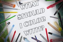 Coloring Tips / Tips and Techniques for coloring