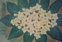 Lukisan / Lukisan Bunga
