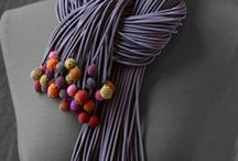 Jewellery - Fabric, Felt & Leather