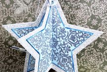 Christmas Theme / Cards, pages and 3-D projects such as ornaments that have a Christmas Theme.