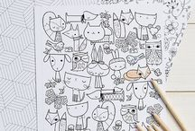 Coloring pages / Art projects/coloring pages