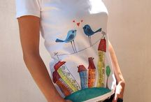 DIY PAINTED TSHIRT-BAGS