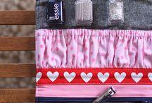 Sewing - Nail Wrap & Polish Clutch Ideas