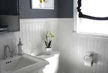 New on suite bathroom / by Amber Adank