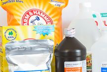 Natural Cleaners / Recipes, products for all natural household cleaners