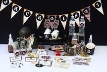 Pirate Birthday Party Ideas and Printables / Beautiful ideas and printables for your Pirate themed birthday party.