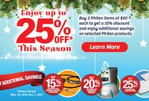 PhitenSG Christmas Deals and Celebration / Lot's of Christmas deals available in all our PhitenSG stores.
