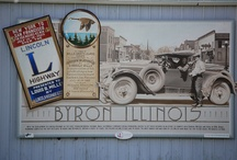 Murals / The Illinois Lincoln Highway Coalition is producing a series of Interpretive Murals to be installed along the Illinois Lincoln Highway National Scenic Byway and its corridor in northern Illinois. Each mural depicts the history, heritage and events of the highway and its impact on the communities. http://drivelincolnhighway.com/murals.html